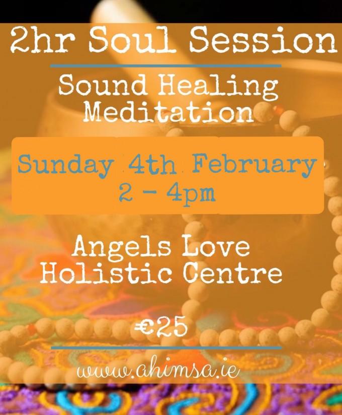 2hr Soul Session – Angels Love Holistic Centre