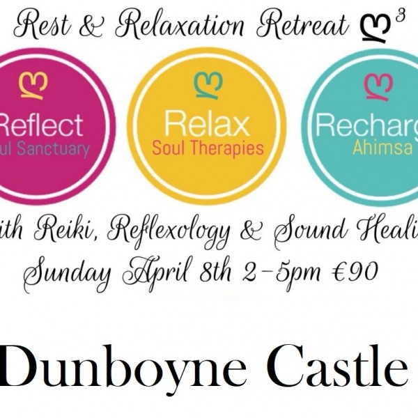 Reflexology, Reiki, Sound Healing