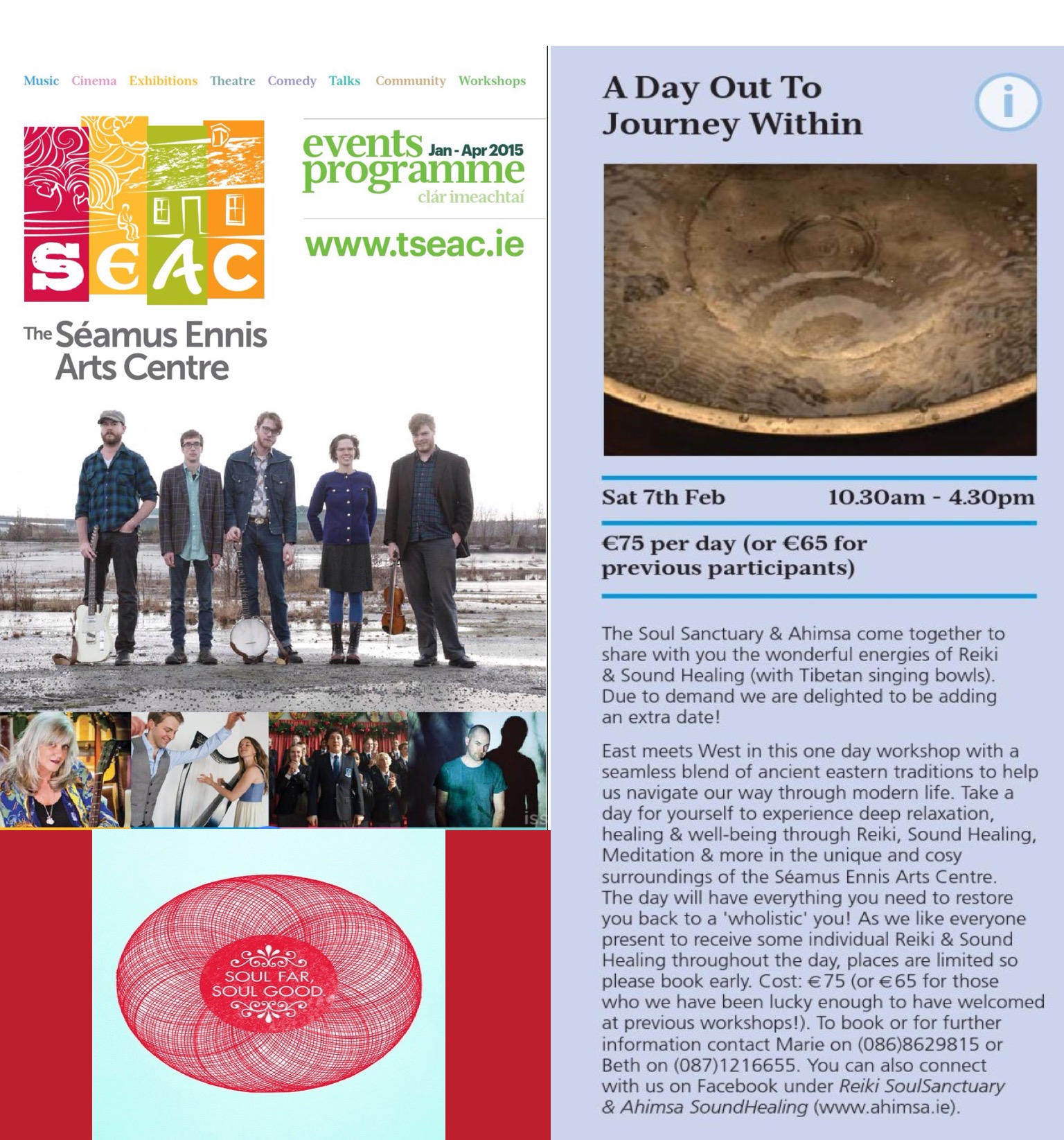 New Year Workshop, Seamus Ennis Centre